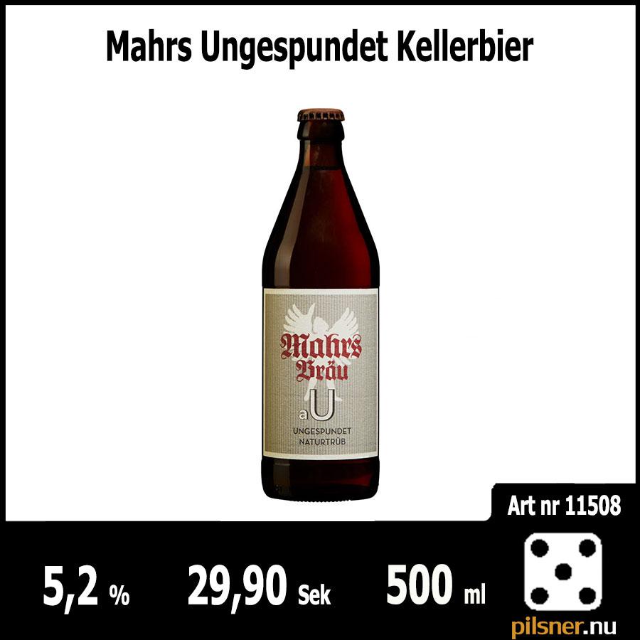 Mahrs Ungespundet Kellerbier