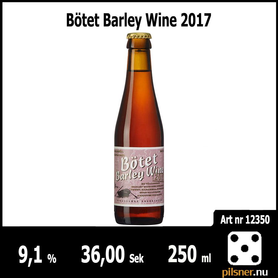 Bötet Barley Wine 2017