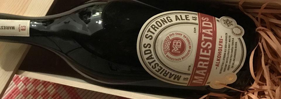 Mariestads Strong Ale – Alkoholfri