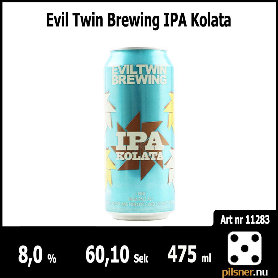 Evil Twin Brewing IPA Kolata