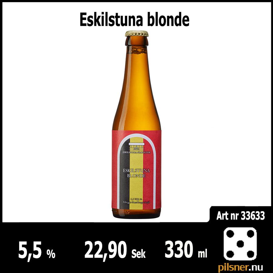Eskilstuna blonde