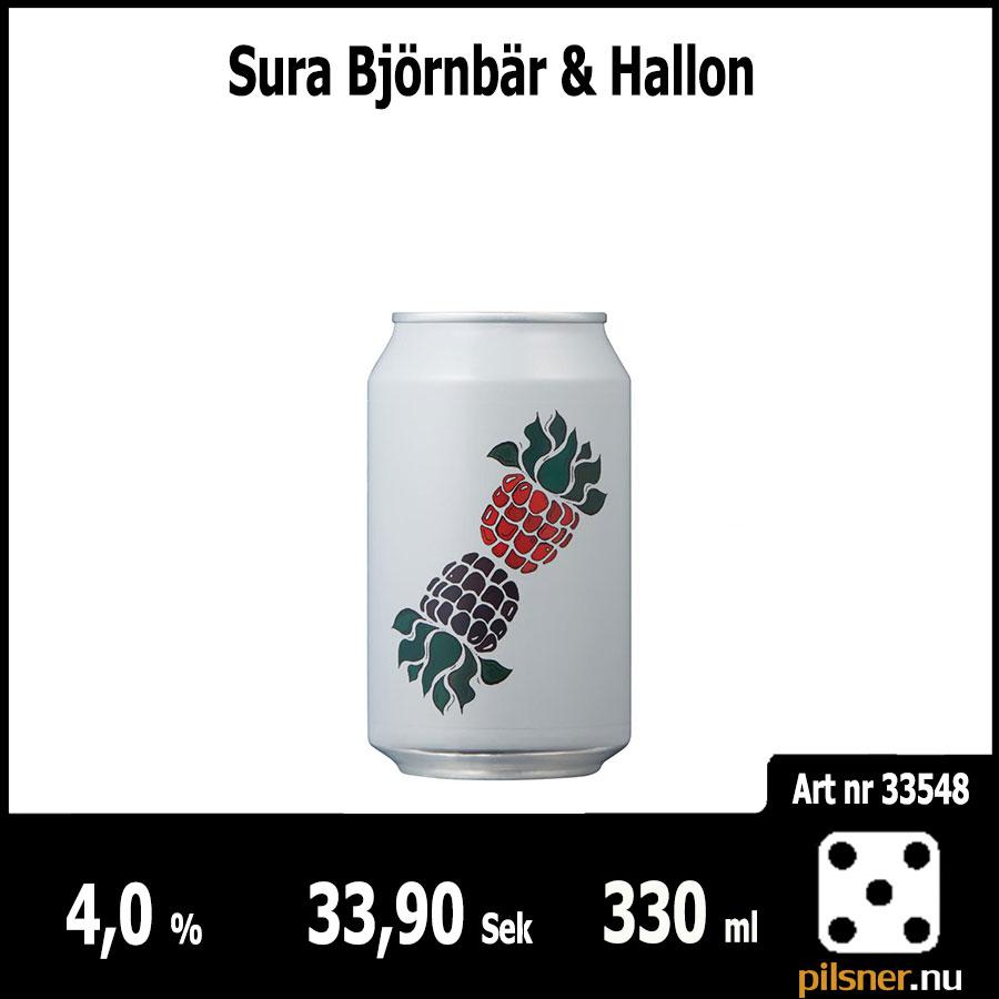 Sura Björnbär & Hallon