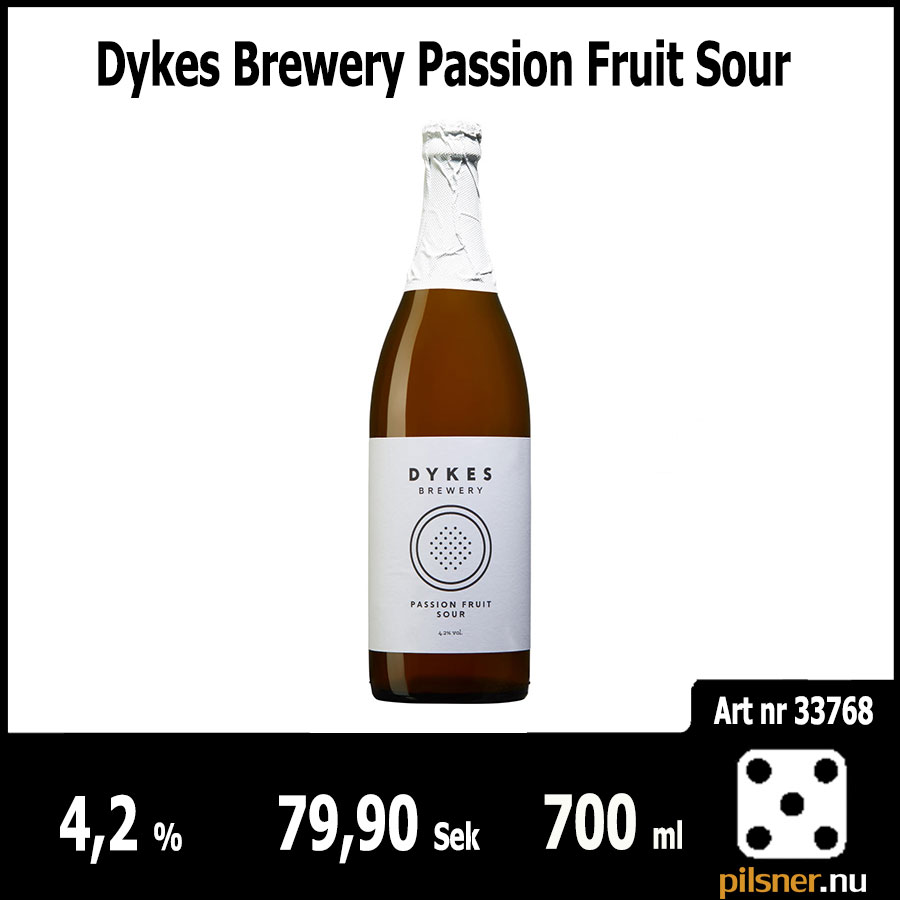 Dykes Brewery Passion Fruit Sour