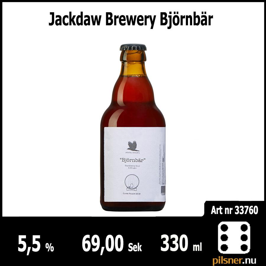 Jackdaw Brewery Björnbär