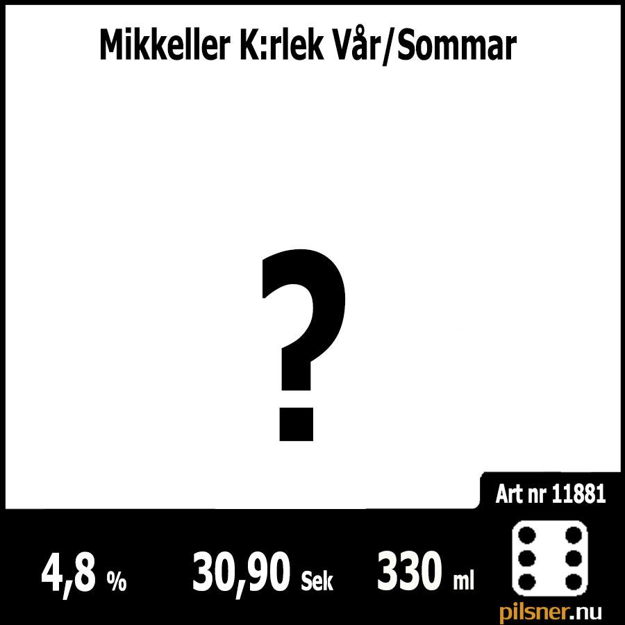 Mikkeller K:rlek Vår/Sommar