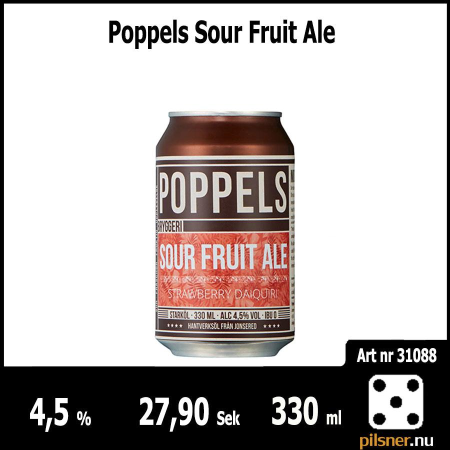 Poppels Sour Fruit Ale Poppels Bryggeri AB