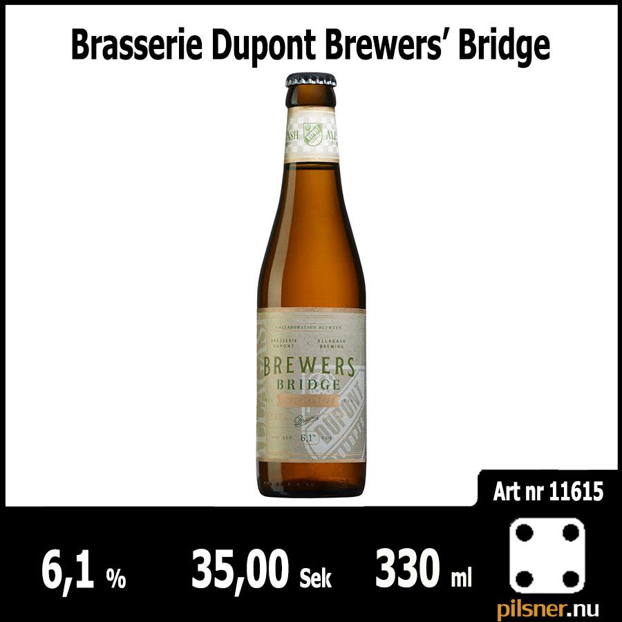 Brasserie Dupont Brewers' Bridge
