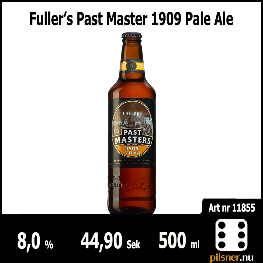 Fuller's Past Master 1909 Pale Ale Fuller, Smith & Turner