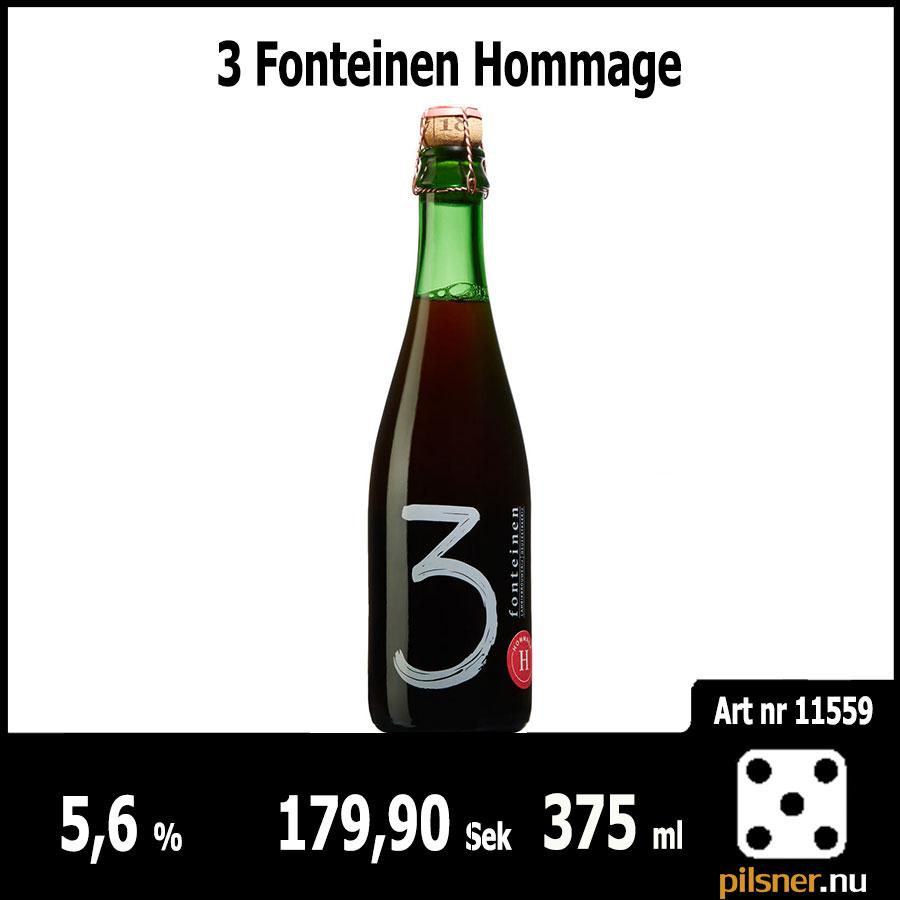 3 Fonteinen Hommage