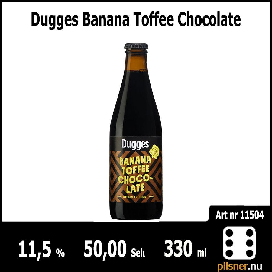 Dugges Banana Toffee Chocolate