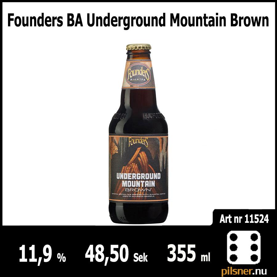 Founders BA Underground Mountain Brown