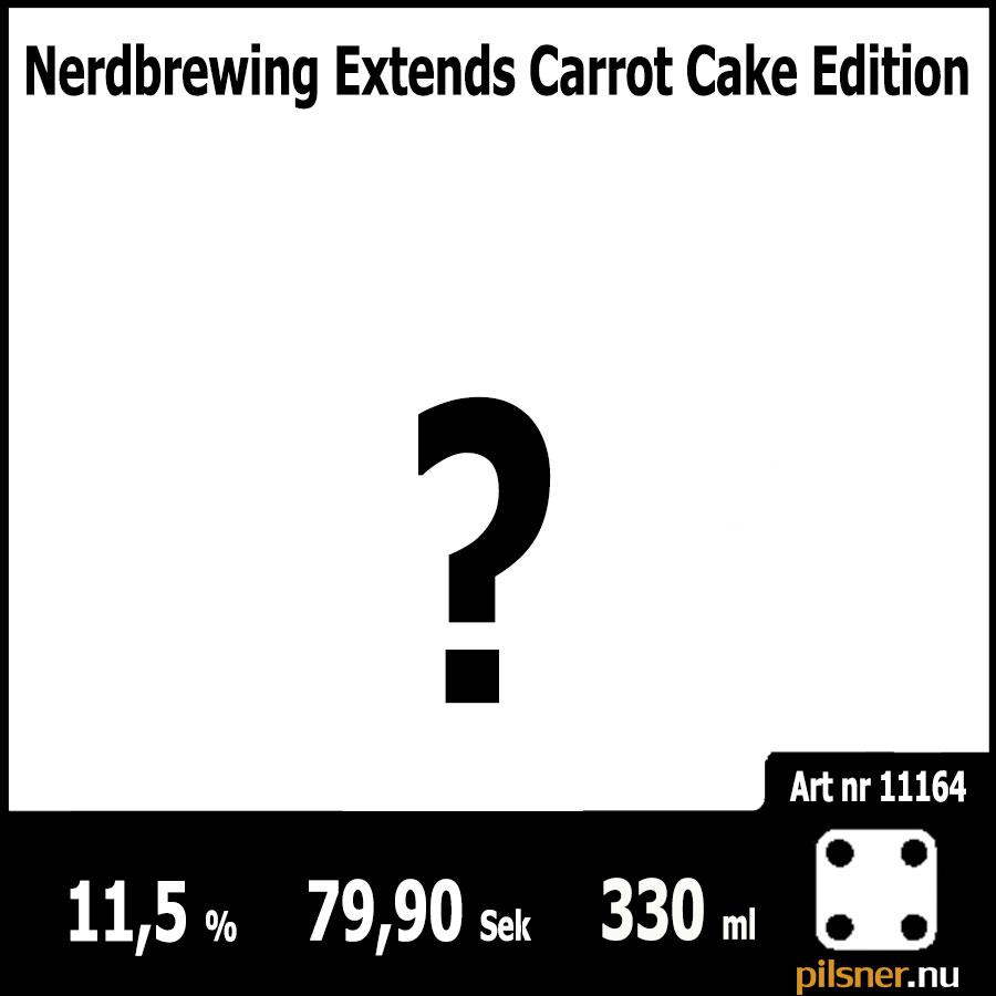 Nerdbrewing Extends Carrot Cake Edition