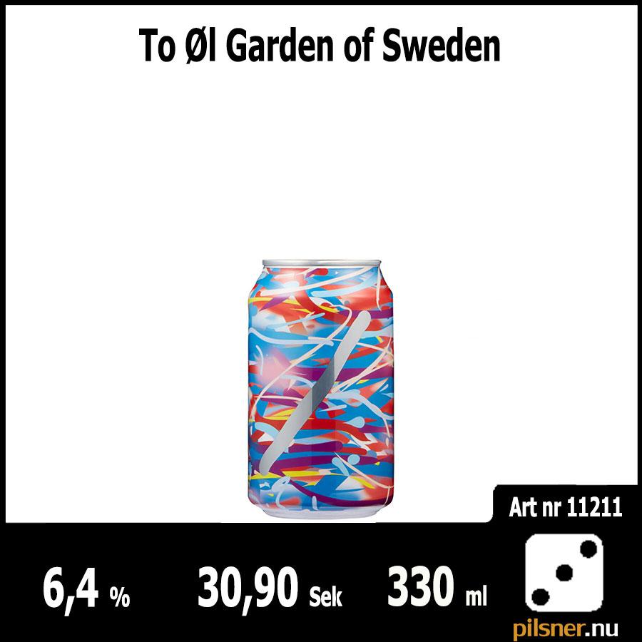 To Øl Garden of Sweden