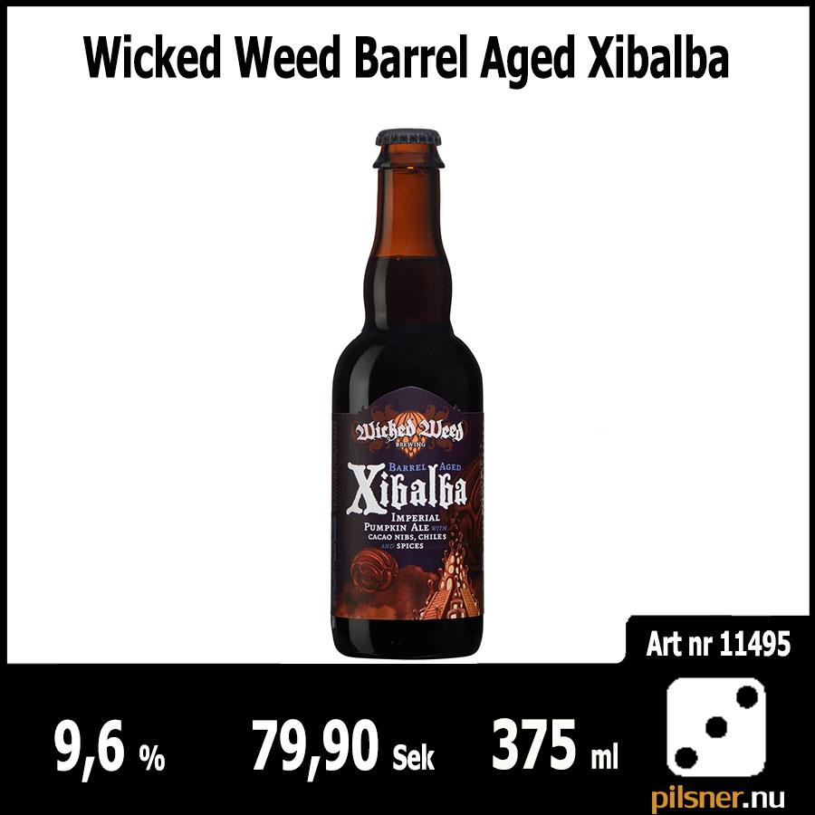 Wicked Weed Barrel Aged Xibalba