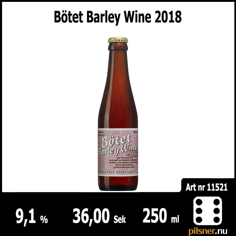 Bötet Barley Wine 2018