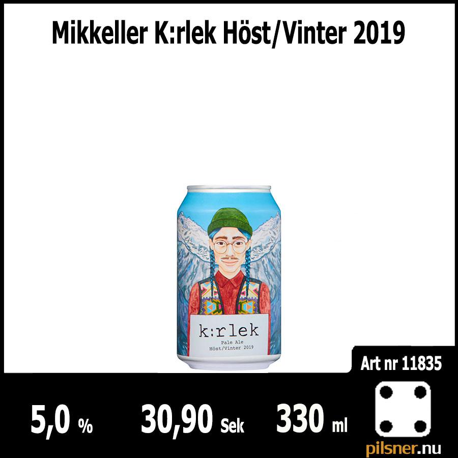 Mikkeller K:rlek Höst/Vinter 2019