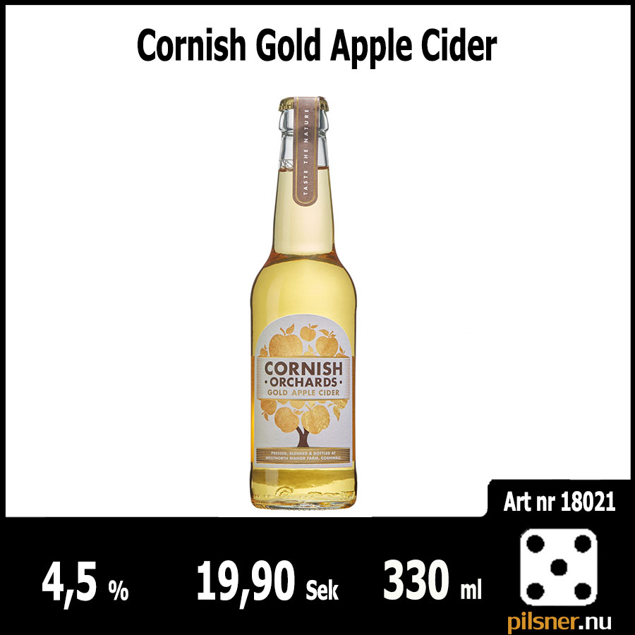 Cornish Gold Apple Cider