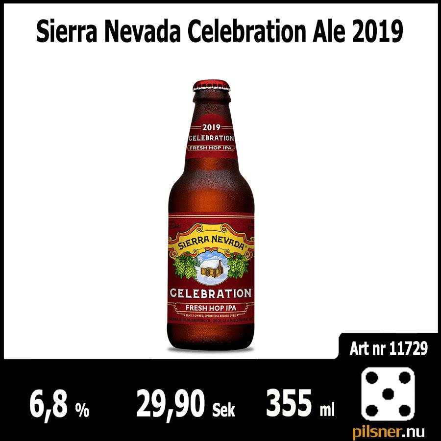 Sierra Nevada Celebration Ale 2019