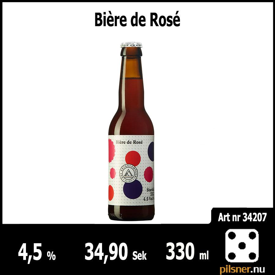 Bière de Rosé