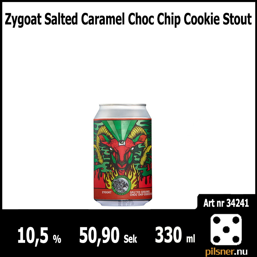 Zygoat Salted Caramel Choc Chip Cookie Stout