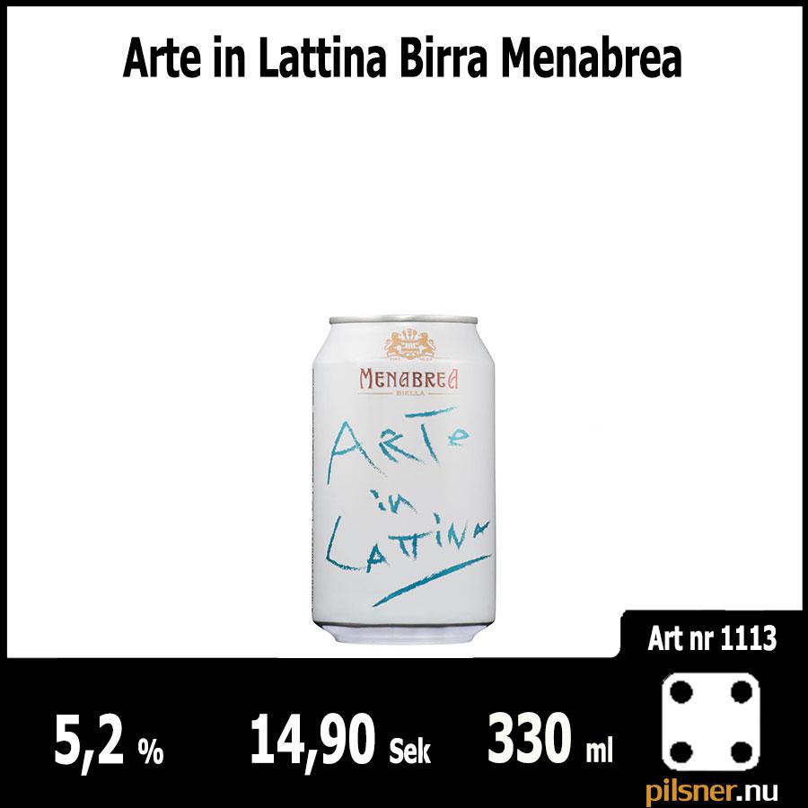 Arte in Lattina Birra Menabrea