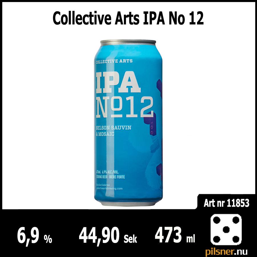Collective Arts IPA No 12