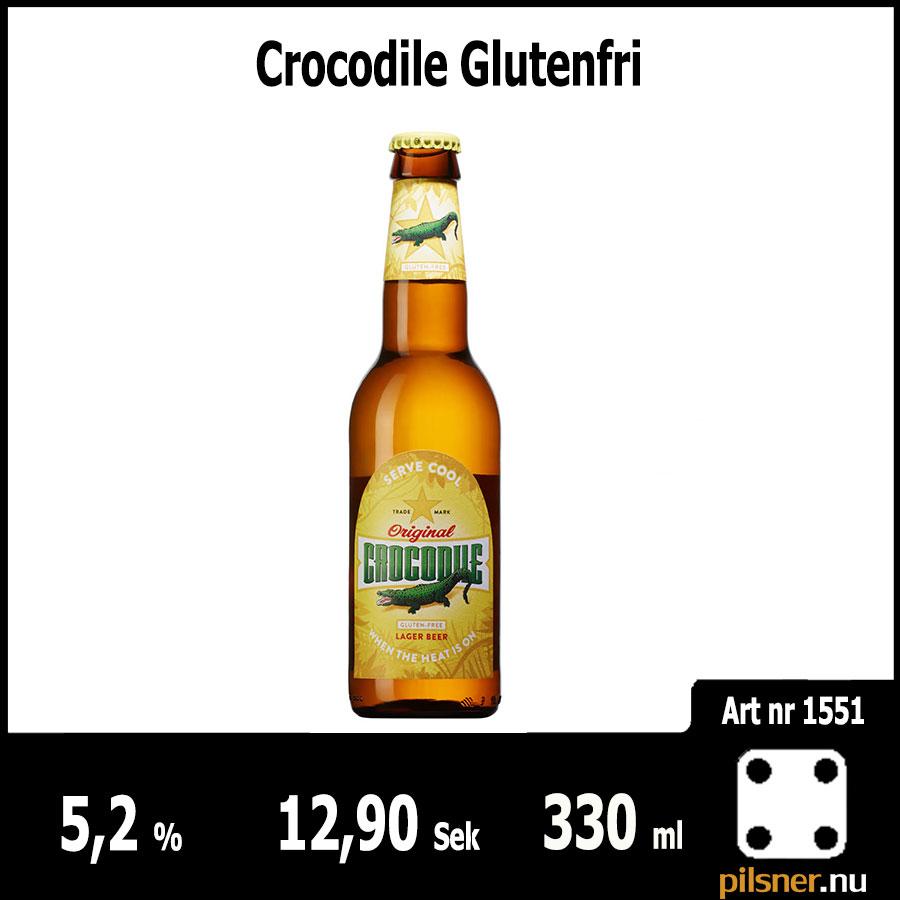 Crocodile Glutenfri