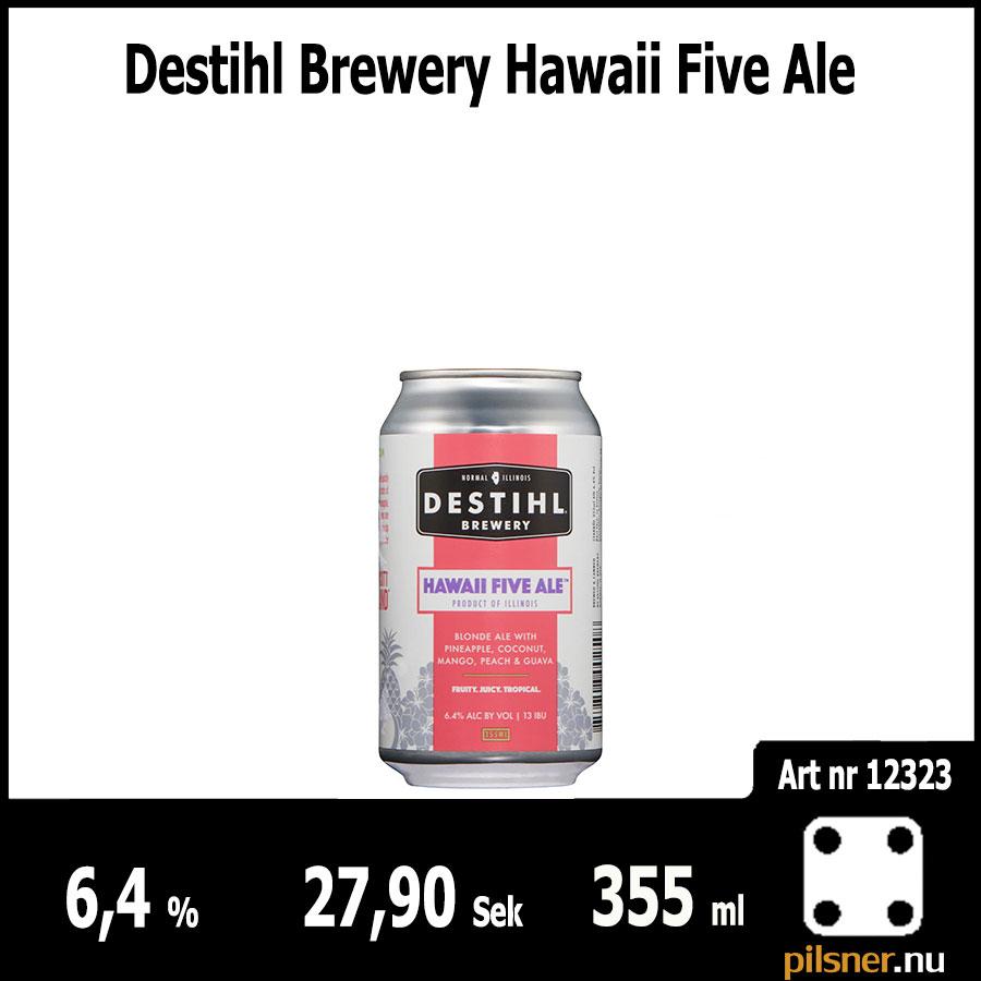 Destihl Brewery Hawaii Five Ale