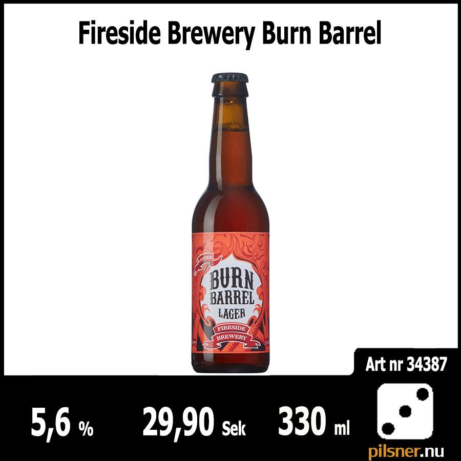 Fireside Brewery Burn Barrel