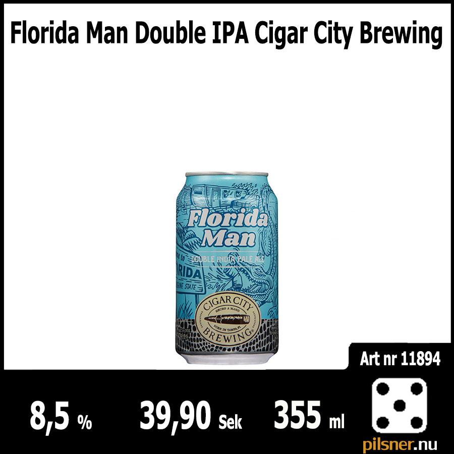 Florida Man Double IPA Cigar City Brewing