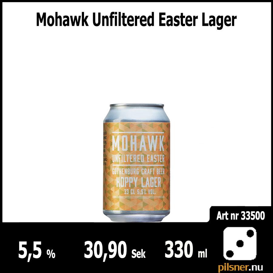 Mohawk Unfiltered Easter Lager
