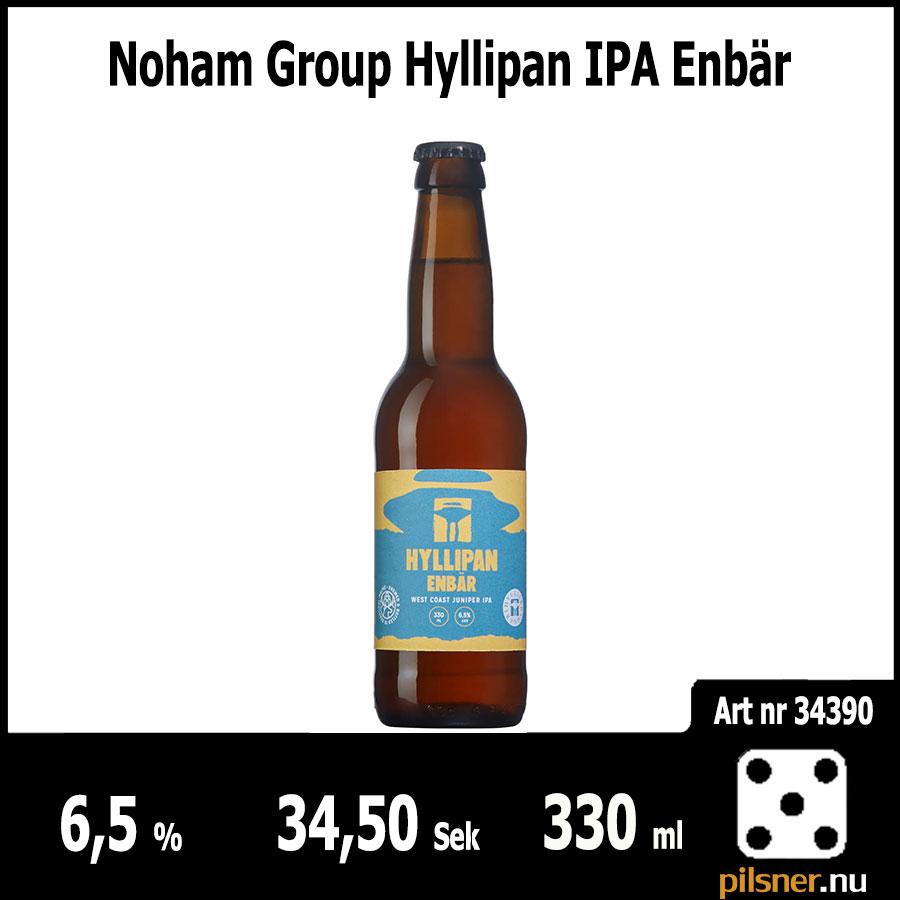 Noham Group Hyllipan IPA Enbär