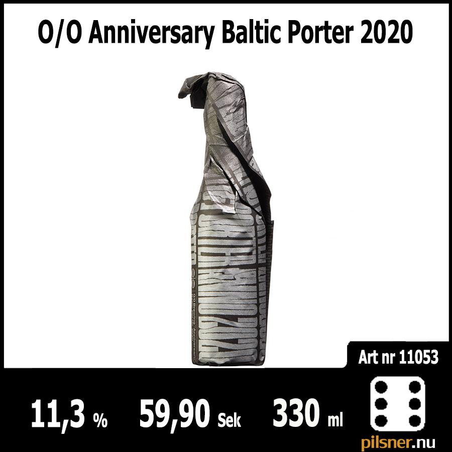 O/O Anniversary Baltic Porter 2020