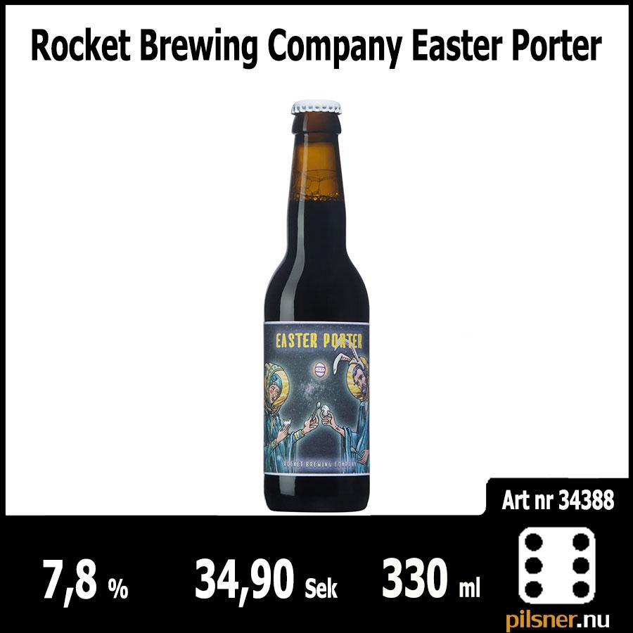 Rocket Brewing Company Easter Porter