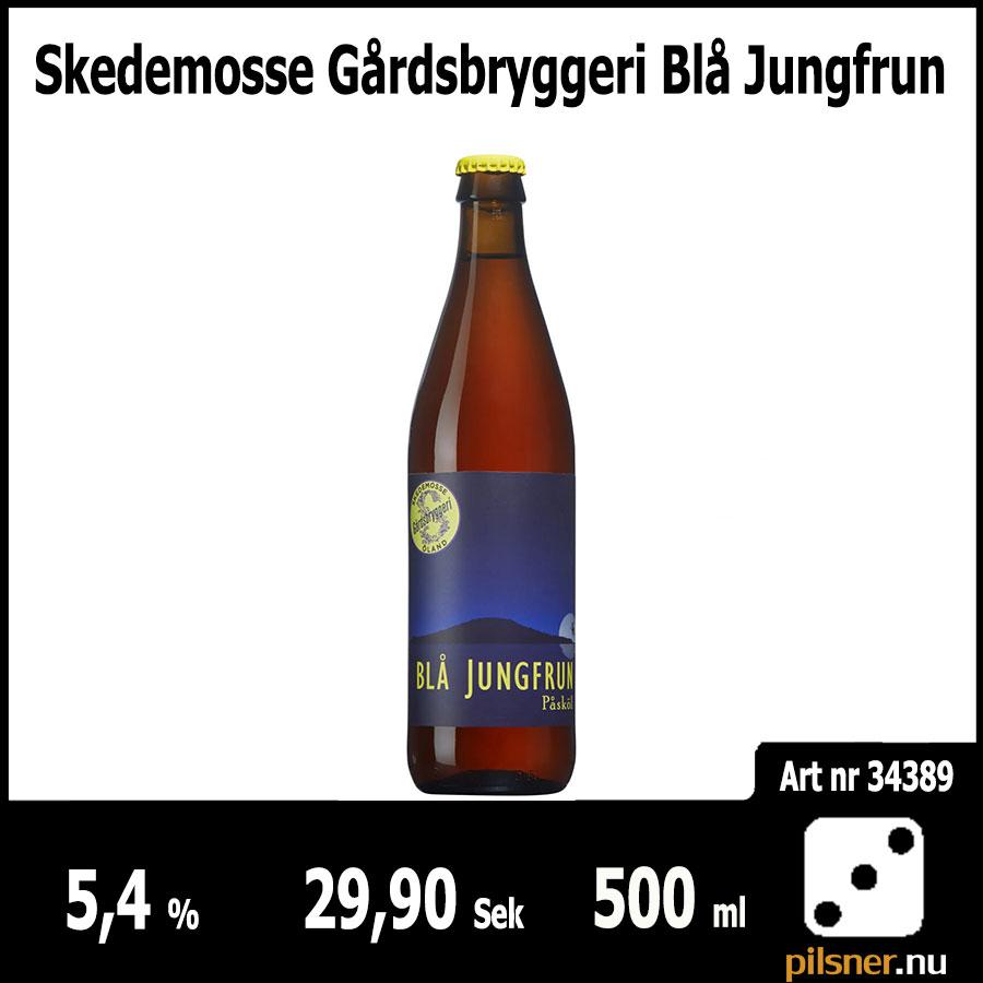 Skedemosse Gårdsbryggeri Blå Jungfrun