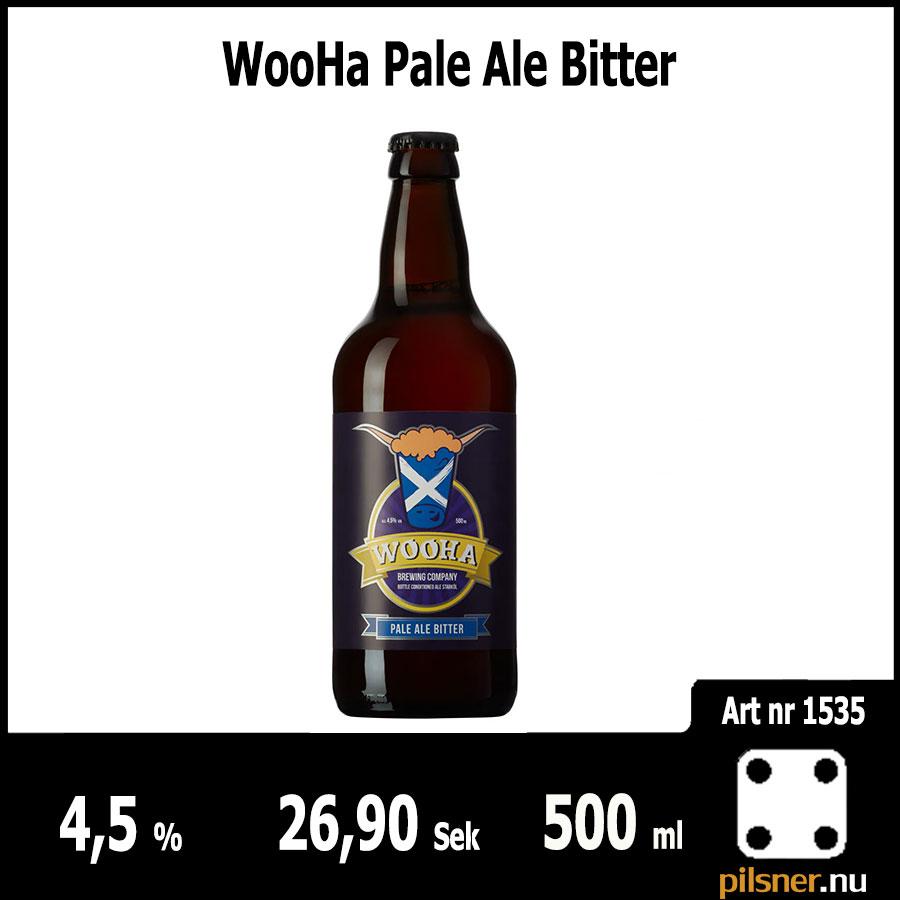 WooHa Pale Ale Bitter
