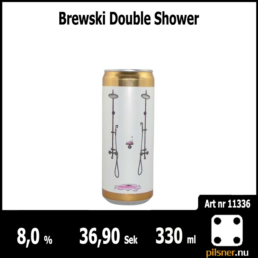Brewski Double Shower