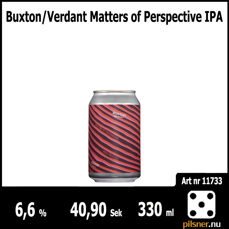 Buxton/Verdant Matters of Perspective IPA