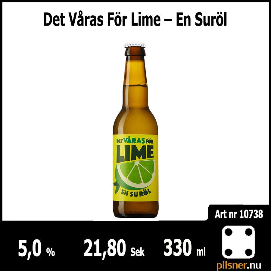 Det Våras För Lime – En Suröl