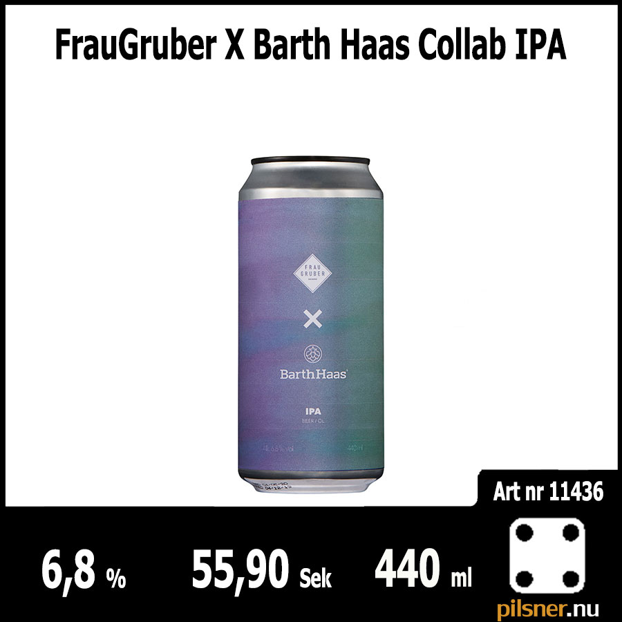 FrauGruber X Barth Haas Collab IPA