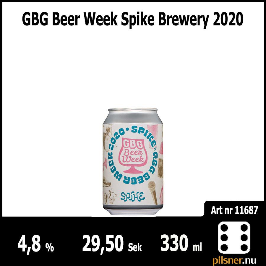 GBG Beer Week Spike Brewery 2020