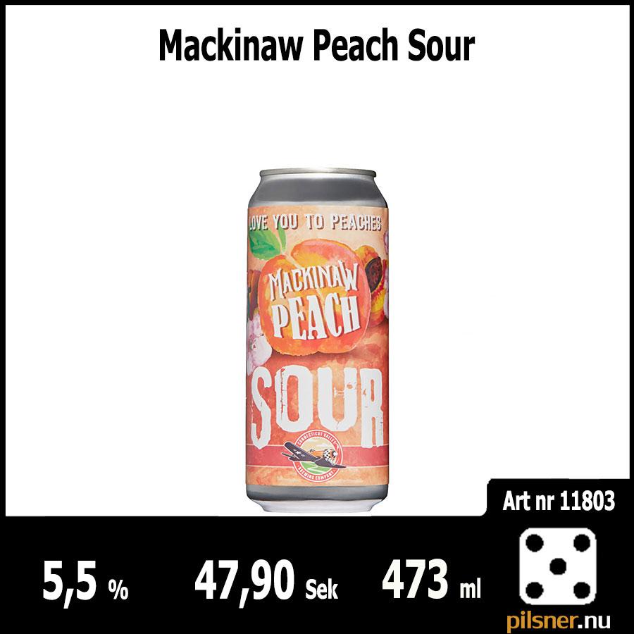 Mackinaw Peach Sour