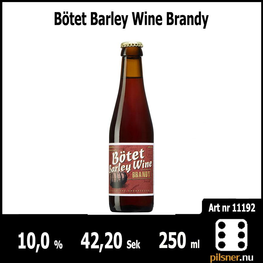 Bötet Barley Wine Brandy