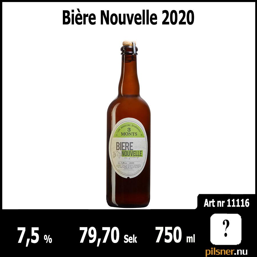 Bière Nouvelle 2020