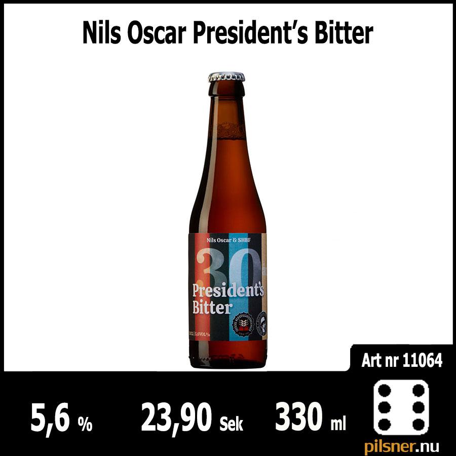 Nils Oscar President's Bitter