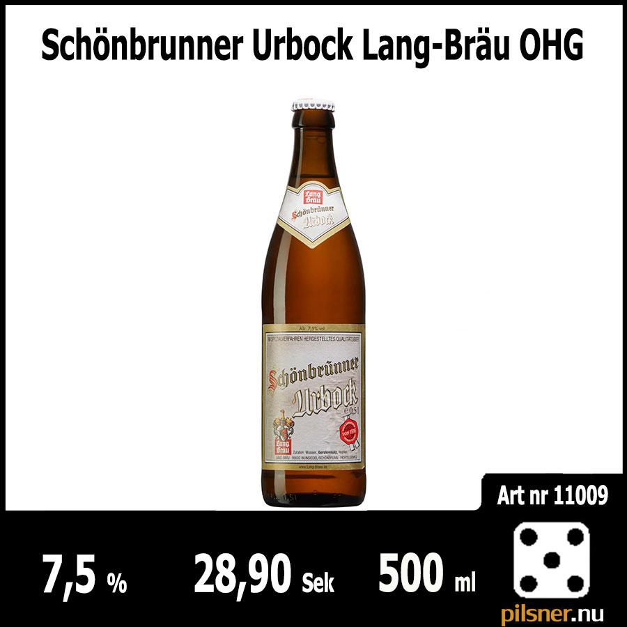 Schönbrunner Urbock Lang-Bräu OHG