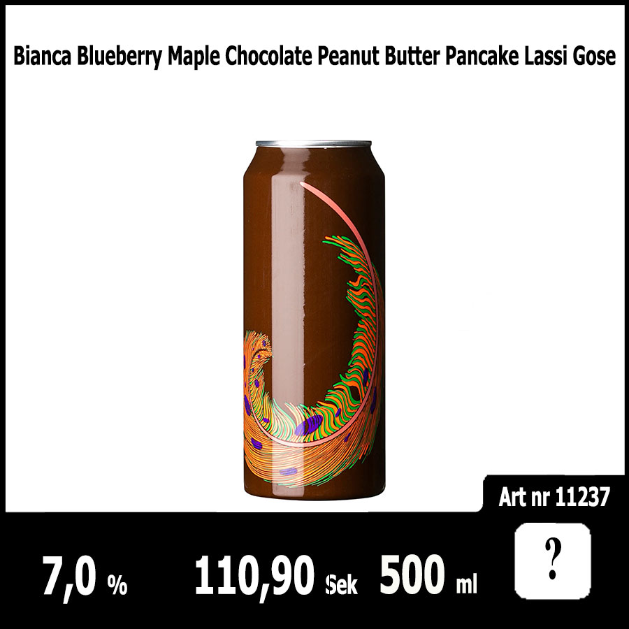 Bianca Blueberry Maple Chocolate Peanut Butter Pancake Lassi Gose
