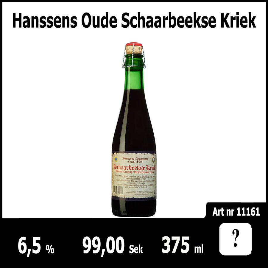Hanssens Oude Schaarbeekse Kriek