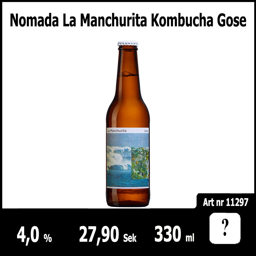 Nomada La Manchurita Kombucha Gose