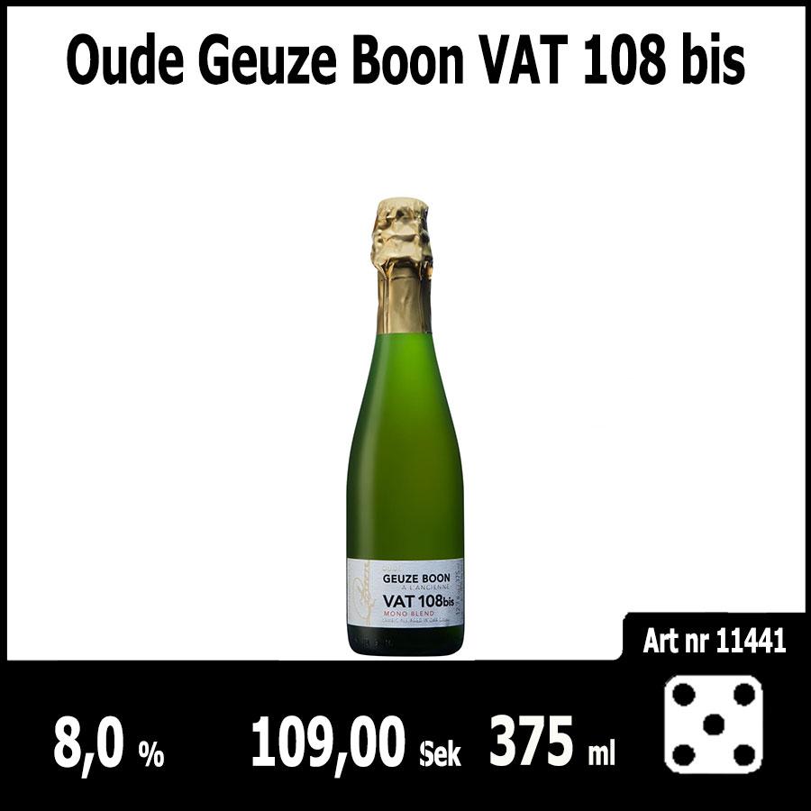 Oude Geuze Boon VAT 108 bis